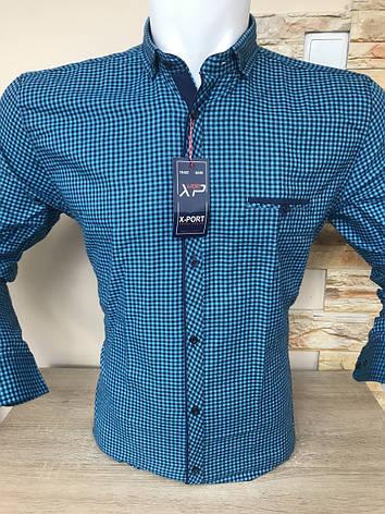 Тепла кашемірова сорочка Х-port, фото 2