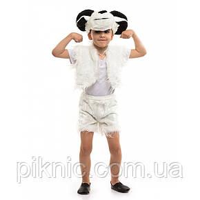 Костюм Баранчик для детей 3,4,5,6 лет. Детский новогодний карнавальный костюм Баран 342, фото 2