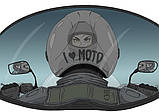 "Байкерська чашка ""I Love Moto"", фото 2"