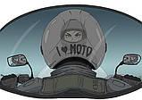 "Байкерская чашка ""I Love Moto"", фото 2"