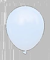 """Латексные шары без рисунка 12"""" (30 см), STD MACARON голубые 10 шт"""