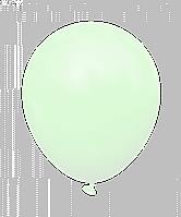 """Латексные шары без рисунка 12"""" (30 см), STD MACARON зеленые 10 шт"""