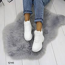 Ботинки на платформе со шнурками, фото 3
