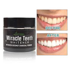 Отбеливатель зубов Miracle Teeth Whitener, черная зубная паста, натуральная зубная паста. отбеливатель зубов, фото 3