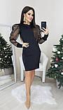 Платье женское вечернее чёрное, белое, бежевое, 42-44, 44-46, фото 2