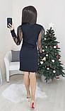 Платье женское вечернее чёрное, белое, бежевое, 42-44, 44-46, фото 3