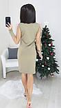 Платье женское вечернее чёрное, белое, бежевое, 42-44, 44-46, фото 7