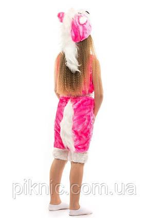 Костюм Лошадки для девочек 3,4,5,6 лет. Детский новогодний карнавальный Пони 342, фото 2