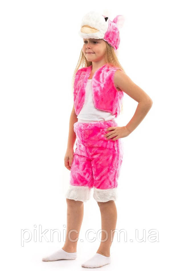 Костюм Лошадки для девочек 3,4,5,6 лет. Детский новогодний карнавальный Пони 342