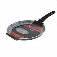 Сковорода блинная UNIQUE UN-5411 20 см гранит/индукция