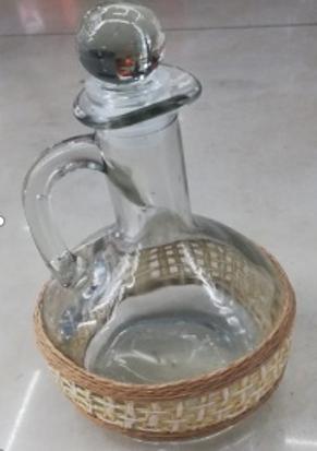 Кувшин для хранения масла, уксуса и соусов, стеклянный 200 мл