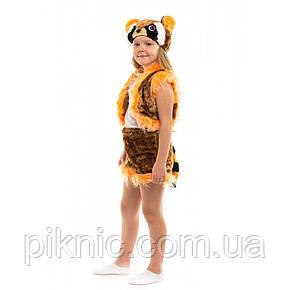 Костюм Енота для детей 3,4,5,6 лет Детский новогодний карнавальный костюм 342, фото 2