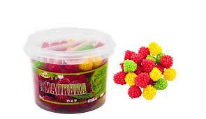 Желейные конфеты малинки 600 грамм