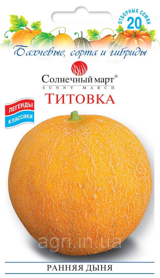 Дыня Титовка, 20шт.