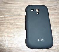 Чехол Samsung S7562 Galaxy S Duos накладка для телефона черный Moshi