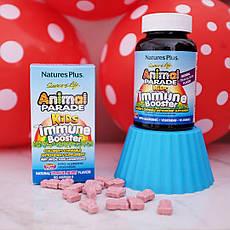 Nature's Plus, Source of Life, Animal Parade, добавка для зміцнення дитячого імунітету, смак натуральних