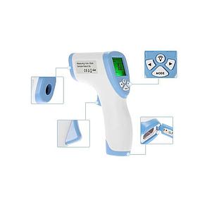Точный бесконтактный термометр Non-contact для измерения температуры тела, води и тд, фото 2