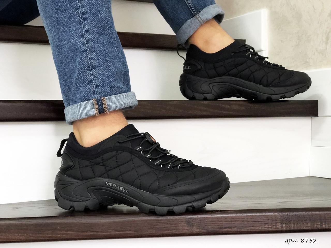 Мужские термо кроссовки Merrell,черные