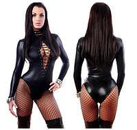 🧡Латексное боди  М | Сексуальный игровой костюм, костюм хеллоуин, костюм медсестры, Нижнее белье, эротическое белье, сексуальное бельё, сексуальный
