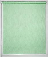 Рулонна штора 825*1500 Лазур Салатовий, фото 1