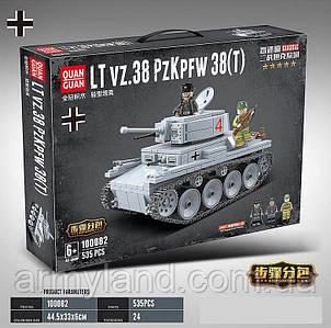 Легкий танк ЛТ38, военный конструктор, аналог Лего