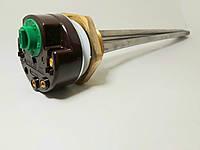 Тен в чугунную батарею 700 Вт, нержавейка, под регулятор