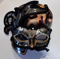 Маска карнавальная Таинственная незнакомка