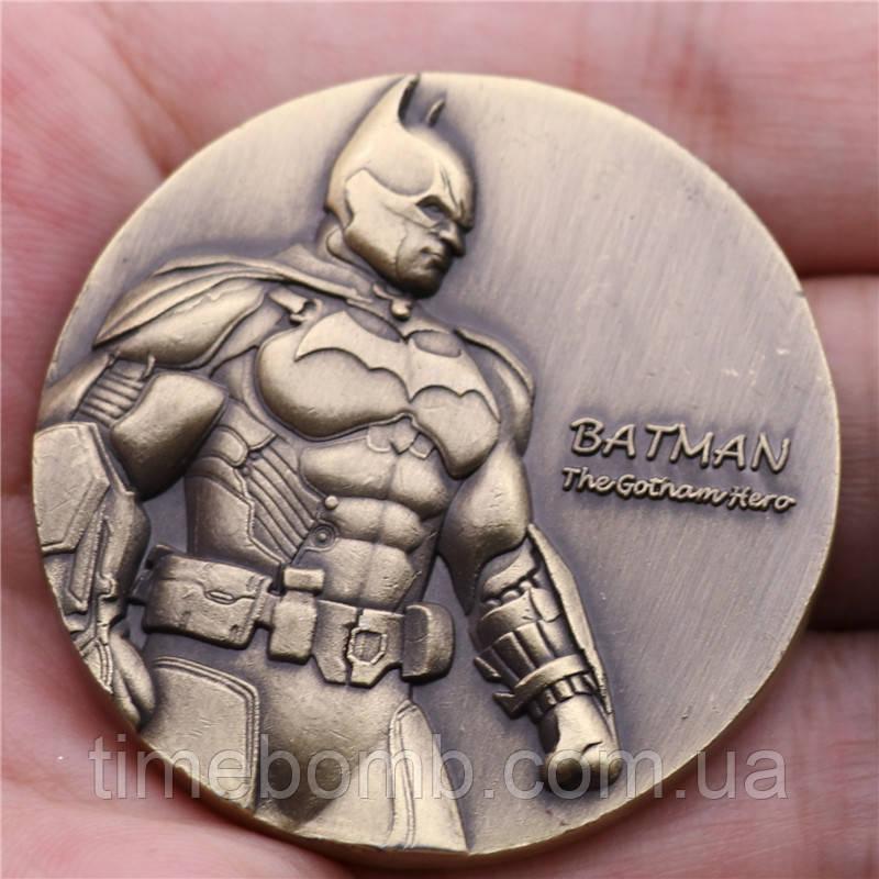 Сувенирная монета ''Противостояние Бэтмена и Джокера''