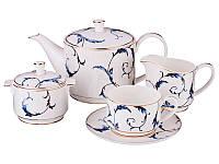 Сервиз чайный фарфоровый на 6 персон Меган 264-657