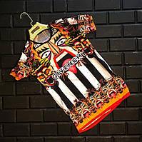 Мужская футболка брендовая Givenchy Живанши с принтом