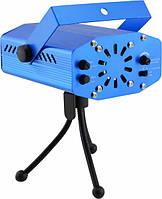 Лазерный проектор  стробоскоп HJ09 2 в 1 ,  диско лазер