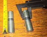 Шпилька ступицы колеса М 18 голая (КТУ, 2ПТС4) (правая левая)
