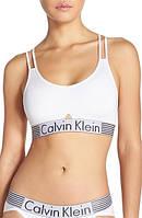 Женский комплект нижнего белья Calvin Klein Iron Strength (стринги топ) реплика