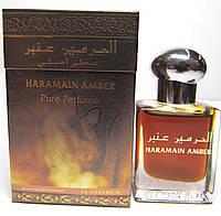 Масляные духи  унисекс Al Haramain  Amber Амбер 15 мл