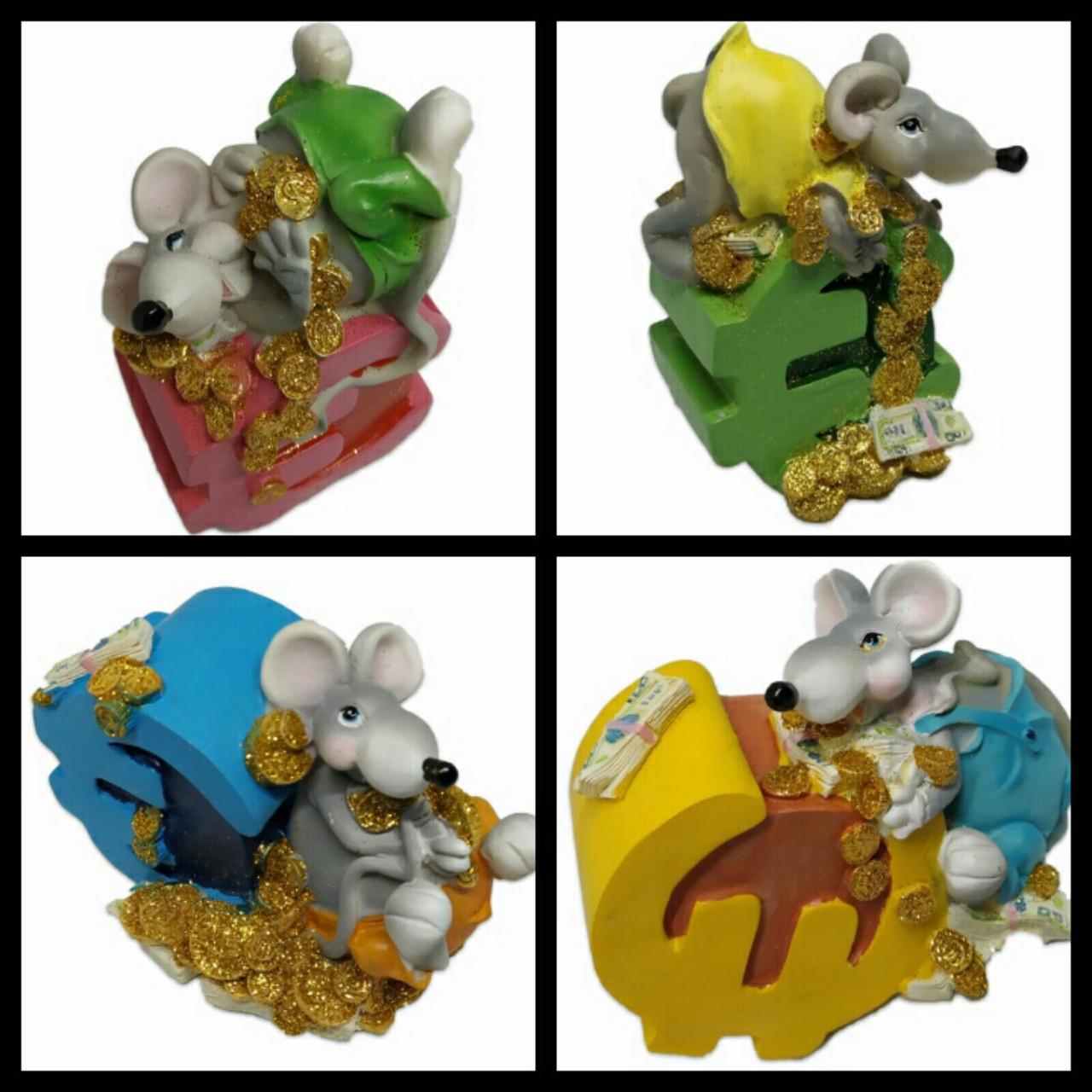 Копилка Мышь керамика