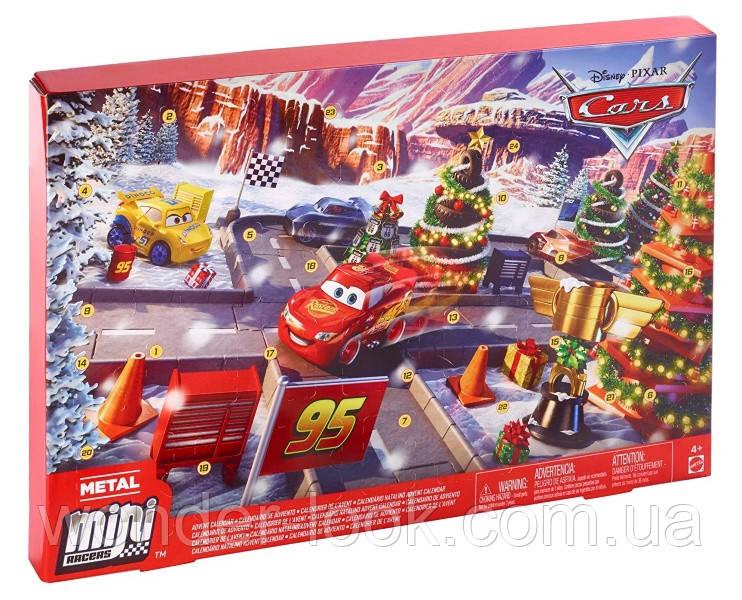 Адвент - календар Disney Тачки. Disney Pixar Cars Advent Calendar