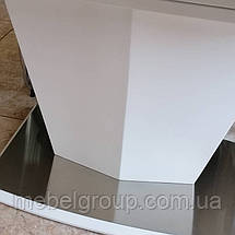 Стол ТМL-700 белый матовый 140/180x80, фото 3