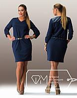 Женское батальное платье с карманами , фото 1
