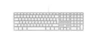 Клавиатура Apple Keyboard Silver MB110