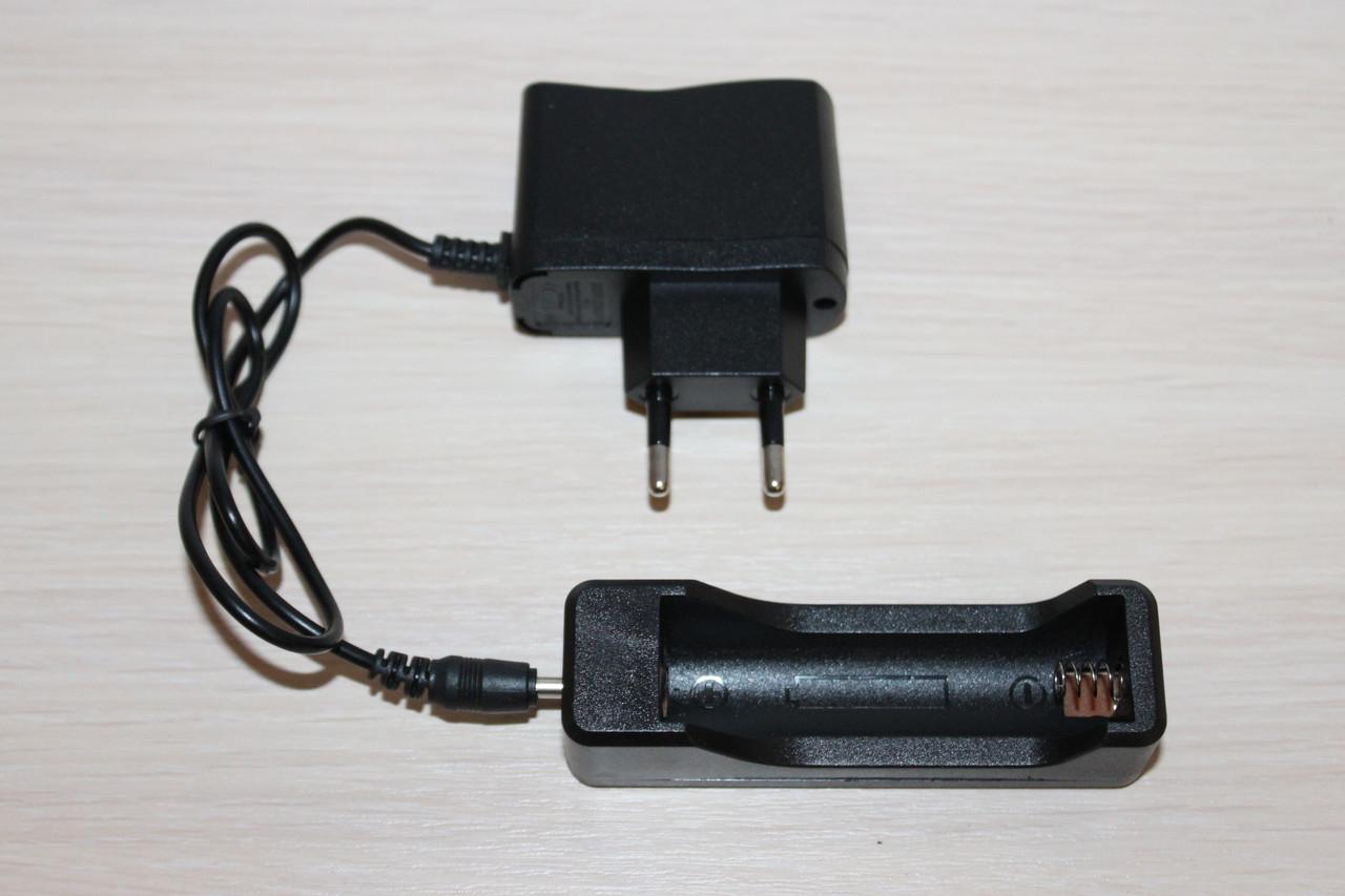 Зарядка для аккумуляторов 18650, 14500, 16340, CR123A
