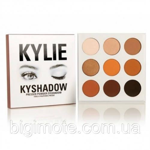 Красивые Тени для век Kylie, тени Кайли, Палетка теней Kylie Kyshadow the Bronze Palette
