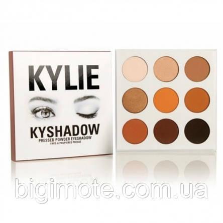 Красивые Тени для век Kylie, тени Кайли, Палетка теней Kylie Kyshadow the Bronze Palette, фото 2