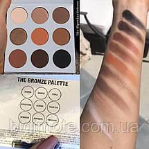 Красивые Тени для век Kylie, тени Кайли, Палетка теней Kylie Kyshadow the Bronze Palette, фото 3