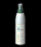 Двухфазный лосьон-спрей Интенсивное восстановление для поврежденных волос CUREX THERAPY Estel