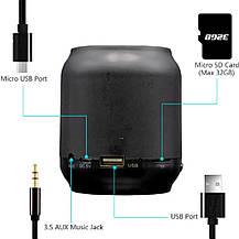 Портативна бездротова Bluetooth колонка HOPESTAR H8, фото 2