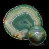 Зеленый агат