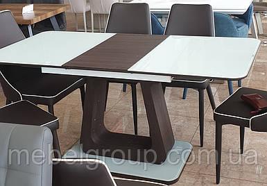 Стол ТМL-521 белый+венге 140/180x80