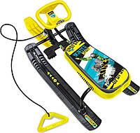 Снегокат «Тимка Спорт 1» ТС1/С2 высокий, winter sport, разные цвета, Nika Kids.