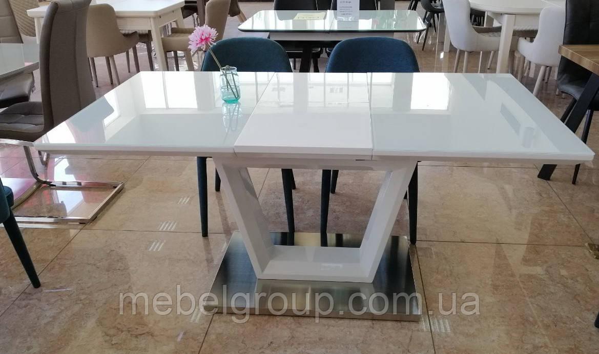 Стол ТМ-51 белый 140/180x80