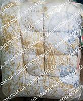 Зимнее теплое одеяло из овечьей шерсти 175х210 Микрофибра